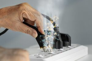 surge-protector-sparking